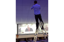 Hotel Projection System Installation