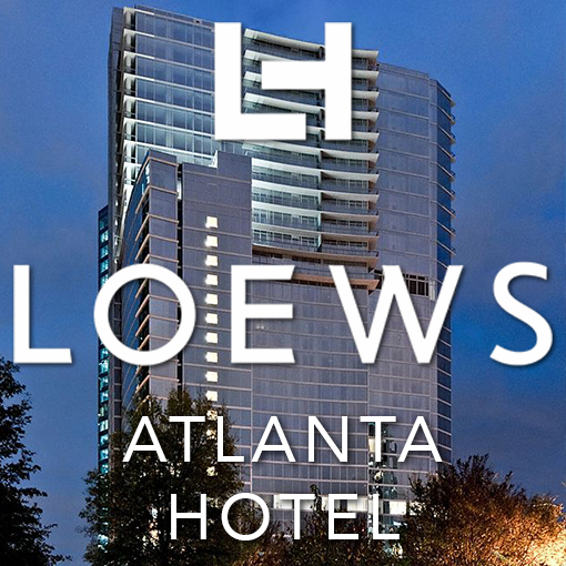 Hotel Custom LCD Video Wall - Loews Atlanta Icon