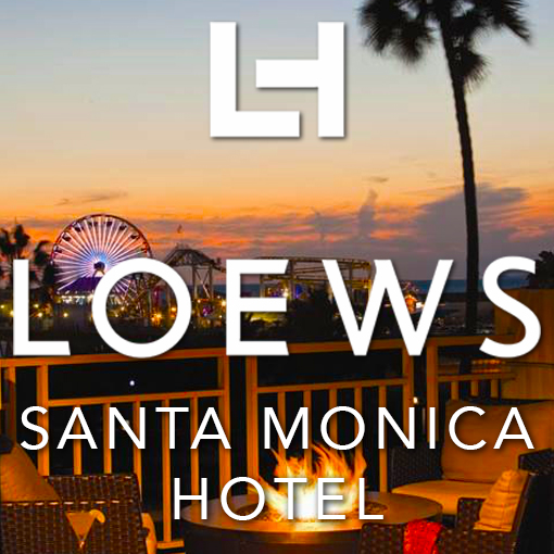 Hotel Custom LCD Video Wall- Loews Santa Monica Icon