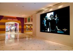 Hotel Lobby LCD Video Wall Installation