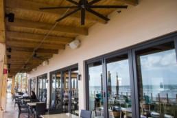 Restaurant Outdoor Audio Installation