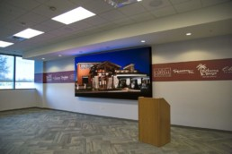 Corporate LED Video Wall Installation