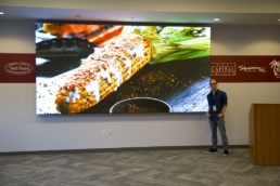 Corporate LED Video Wall Install