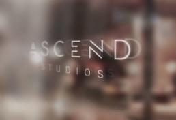 Ascend Studios Window Graphic