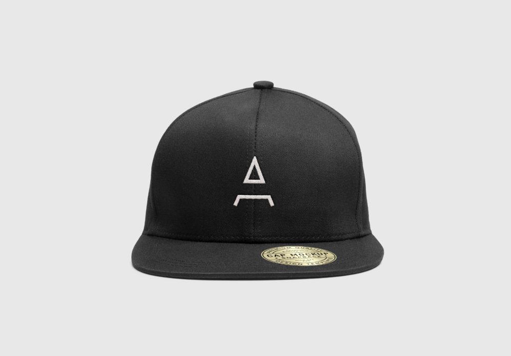 Ascend Hat Mockup Front