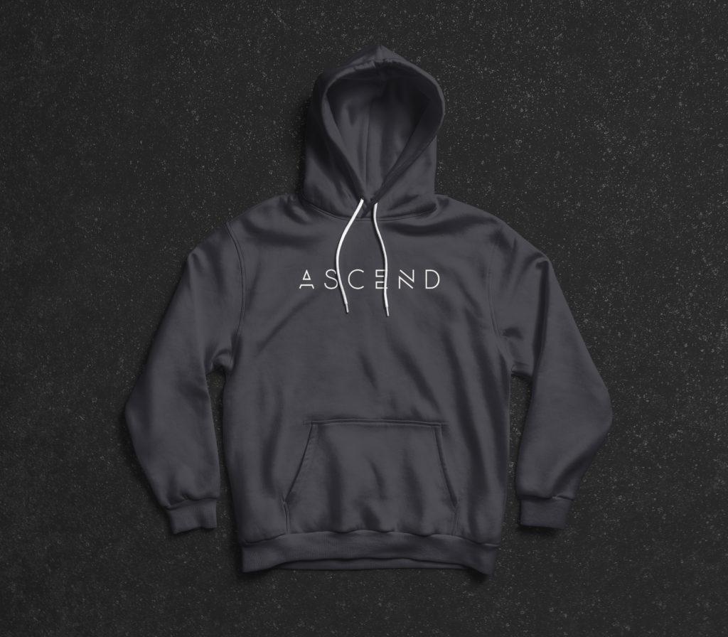 Ascend Full Logo Hoody