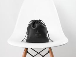 Ascend Studios Leather Headphone Pouch