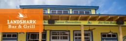 Landshark Restaurant A/V Project Banner