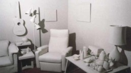 History of Projection Mapping- monochrome room