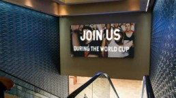 Hotel Video Wall World Cup Promo