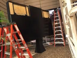 Custom LCD Video Wall in Hotel