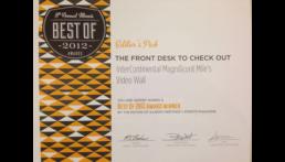 Video Wall Award