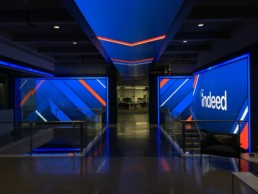 Corporate Lobby LED Video Wall Install