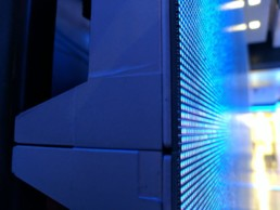 LED Video Wall Pixel Close Up