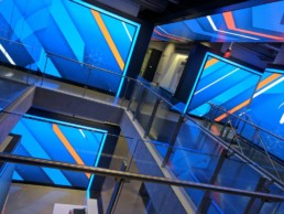 Corporate Lobby LED Video Wall Installation