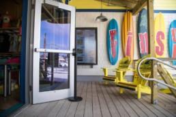 Restaurant Outdoor Menu Board Install