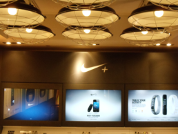 Nike Retail Store AV Installation