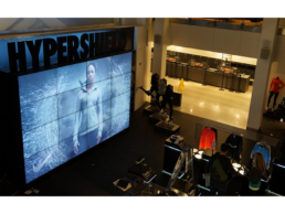 Nike Retail LCD Video Wall Installation