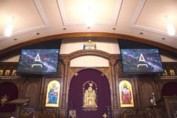 Church AV and Projection System