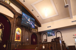 Church AV System with Projection