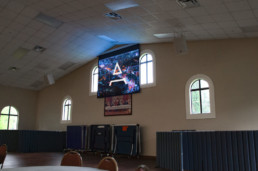 Church Projection System and AV System