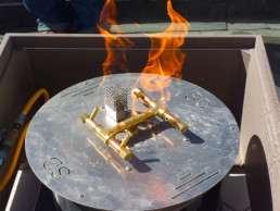 Hotel Fire Pit Control Installation