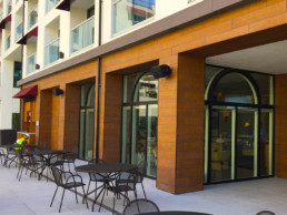 Hotel Restaurant Outdoor Speaker Installation