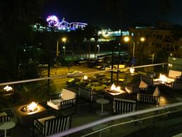Santa Monica Hotel Fire Pit Control