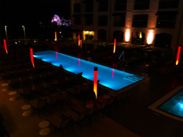 Hotel Creative Lighting Installation