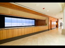 Hotel Lobby LCD Video Wall Installation