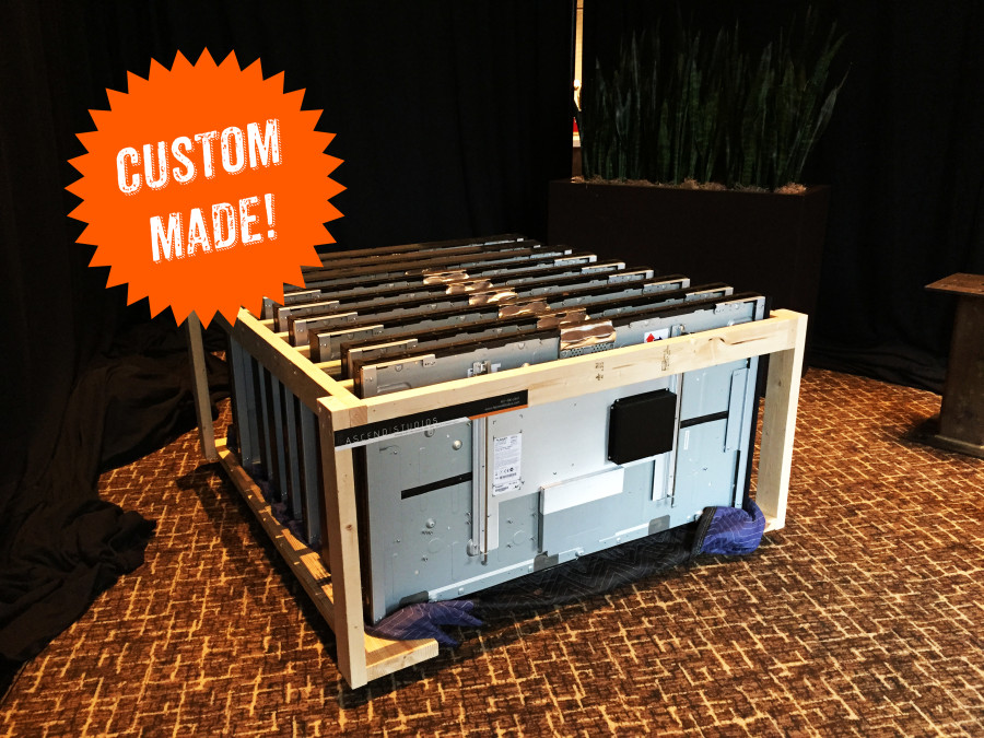 Custom LCD Video Wall Container