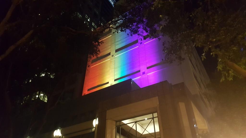 Rainbow Outdoor Lighting Install