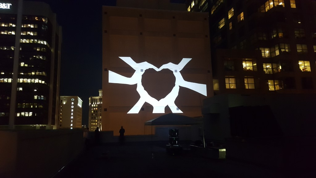 Projection Mapping on Building