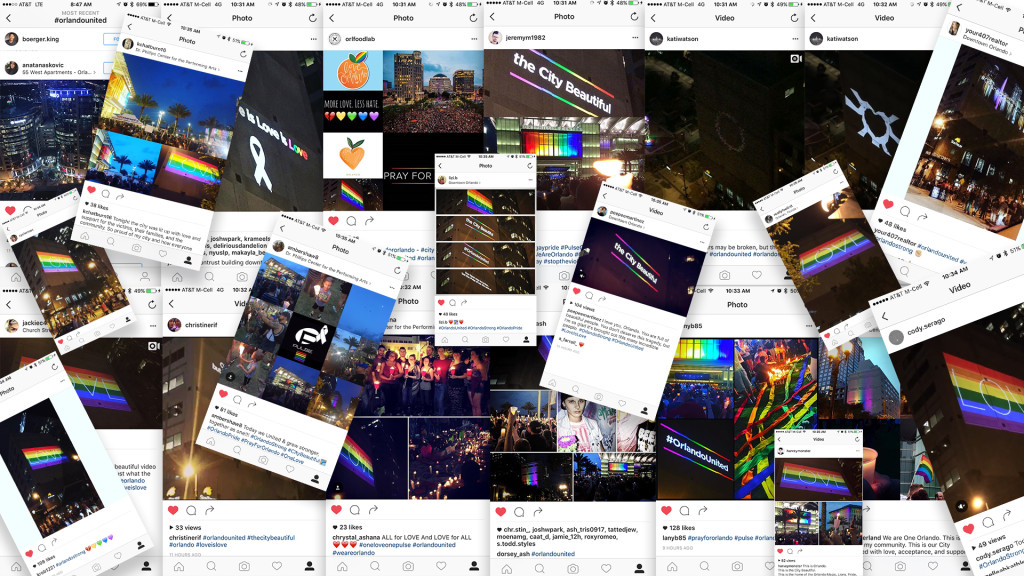 Projection Mapping on Building Social Posts