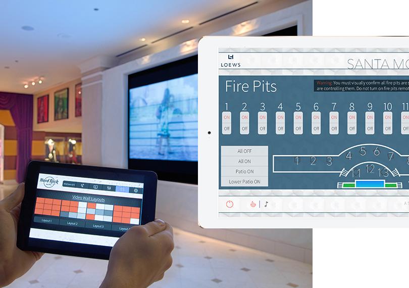 Hotel AV Control Systems