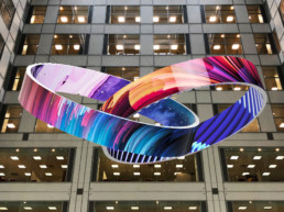 Creative LED Video Wall Installation