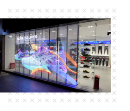 Transparent Displays for Retail