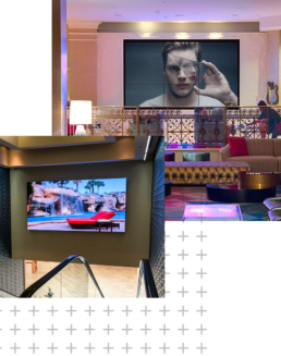 LED, LCD Video Walls in Hotels
