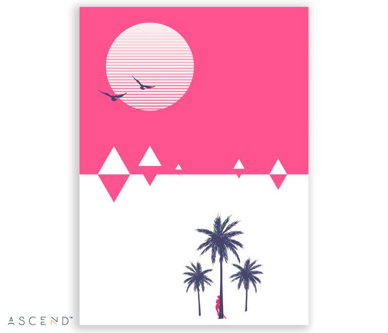 Our World print, artwork detail