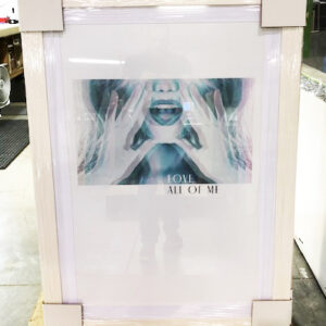 Love All of Me Framed